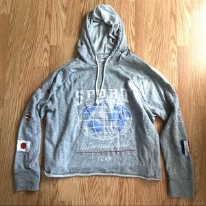 Grayson Threads Long Sleeve Cropped Hoodie XXL